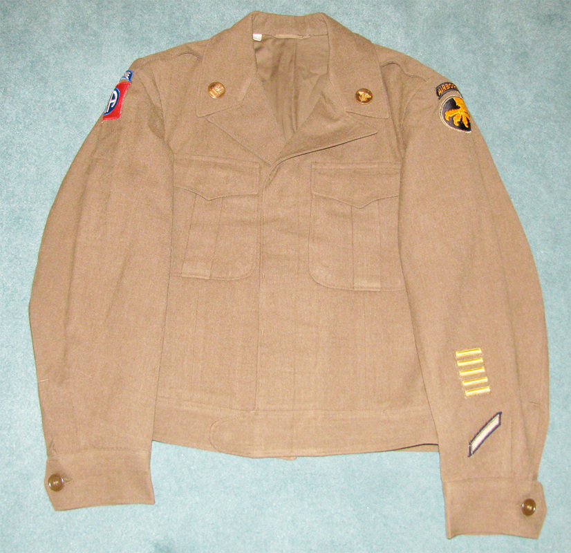 Original WWII Uniforms For Sale: - Top Kick Militaria