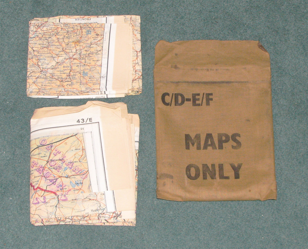 original wwii invasion flags armbands escape maps for sale