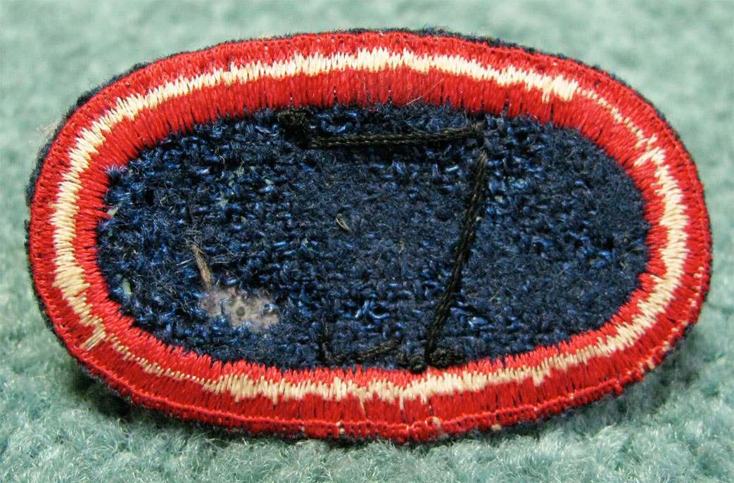 Original WWII Airborne Jump Wing Ovals For Sale: - Top Kick