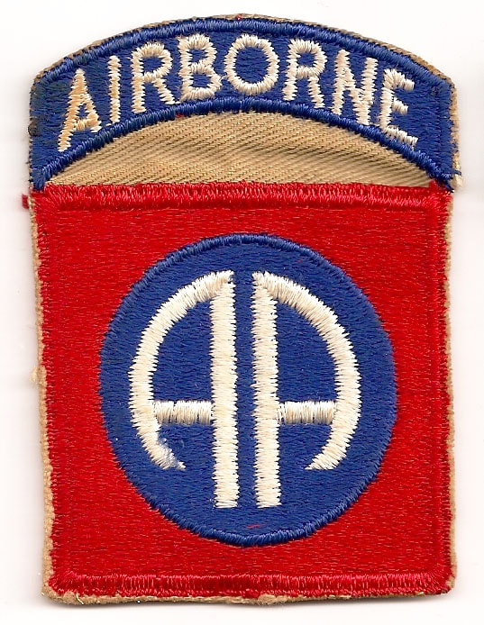 Orignial WWII Airborne Sleeve Insignia For Sale: - Top Kick